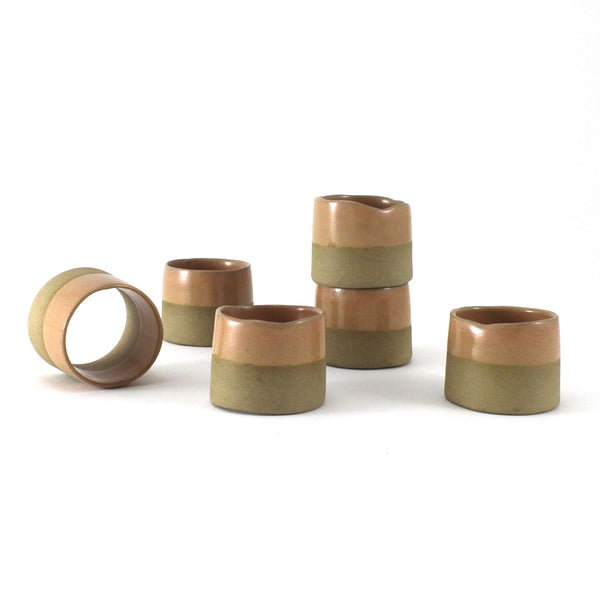 Napkin Rings | Satin Salmon | Small