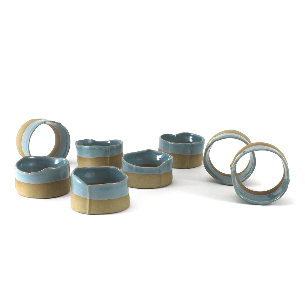 Napkin Rings | Glossy Blue | Large