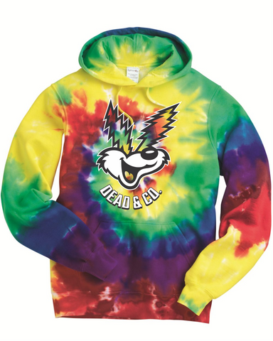 Dead & Co. Coyote Hooded Sweatshirt - Tie Dye