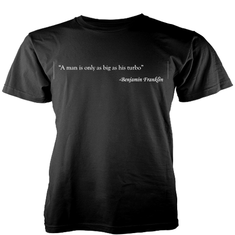 Ben Franklin Turbo Misqoute T-Shirt