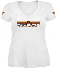 Bench Racing Ladies V-Neck Shirt