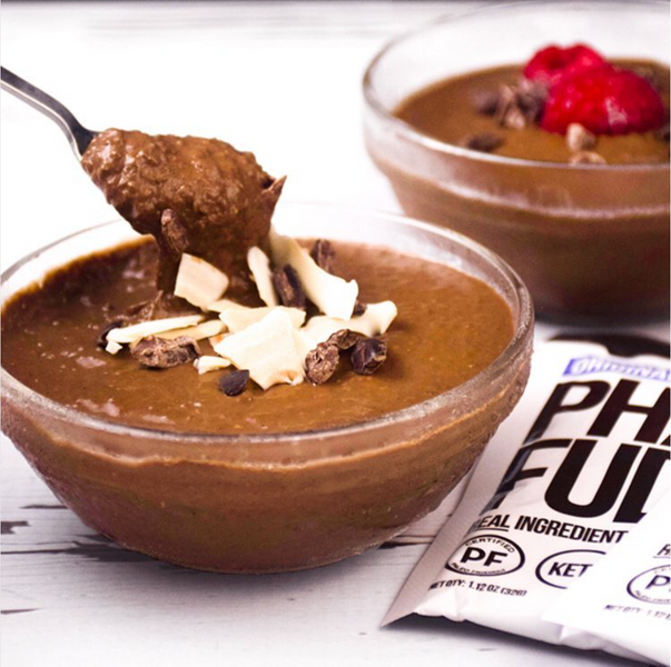 PALEO CHOCOLATE PUDDING POTS