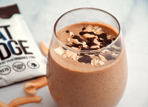 PALEO BANANA MOCHA SMOOTHIE