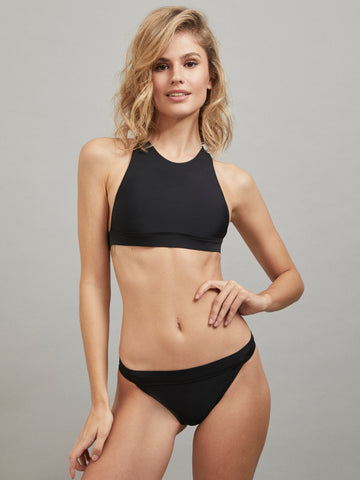 CALLIOPE TOP BATHING SUIT BLACK