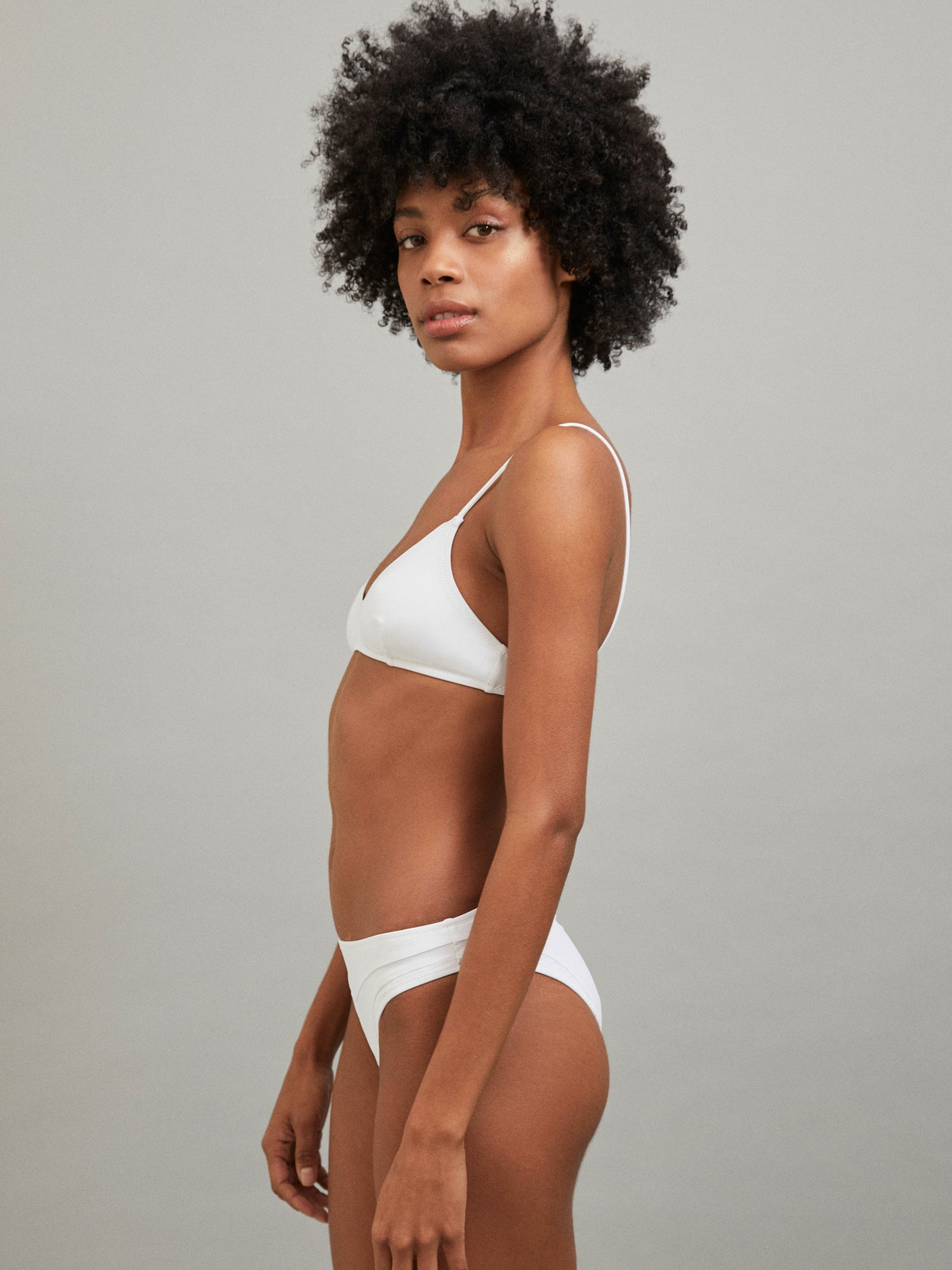 ERATO BOTTOM BATHING SUIT WHITE