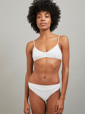 ERATO TOP BATHING SUIT WHITE
