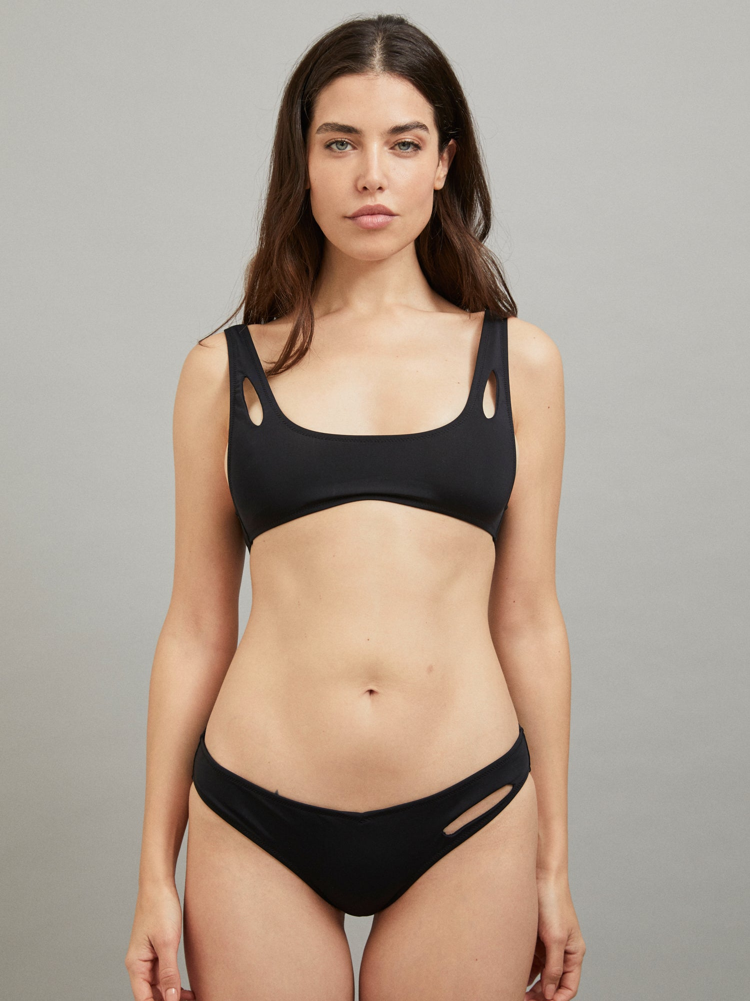 MELPOMENE BOTTOM BATHING SUIT BLACK