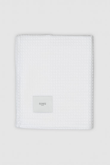 Nimu | Bath Towel Aegeria White