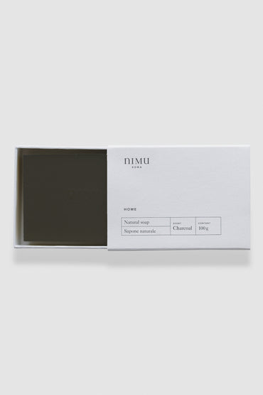 Nimu | Soap bar Charcoal 100g