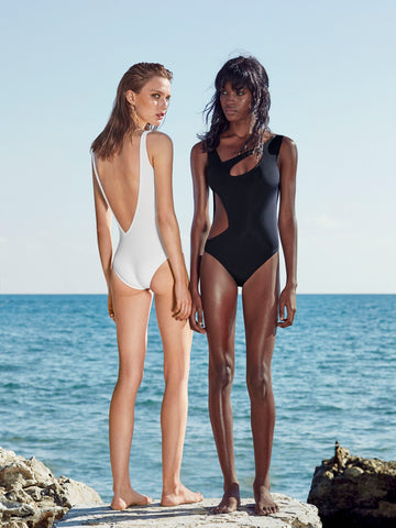 ANDROMEDAE Swimsuit Black