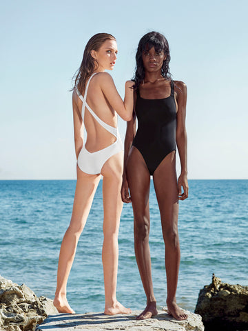 CRUCIS AUSTRALIS Swimsuit Black