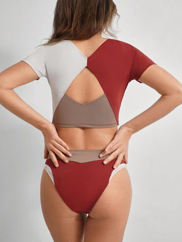 ORIONIS Top Bathing Suit in Colors