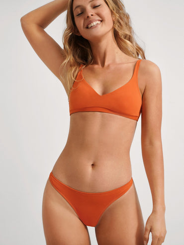 WAVY Top Bathing Suit in Color