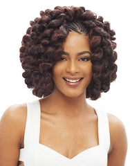 Janet Noir 100% Kanekalon Braid - 2X BOUNCE TWIST BRAID