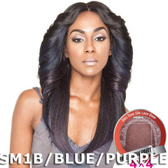 "Mane Concept Brown Sugar Human Hair Blend Silk Lace Wig - BS602 (4""X4"" Lace)"