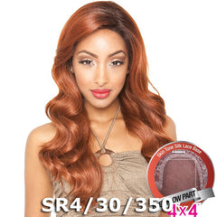 "Mane Concept Brown Sugar Human Hair Blend Silk Lace Wig - BS608 (4""X4"" Lace)"
