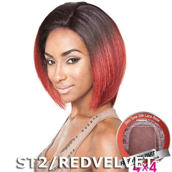 "Mane Concept Brown Sugar Human Hair Blend Silk Lace Wig - BS601 (4""X4"" Lace)"