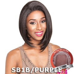 "Mane Concept Brown Sugar Human Hair Blend Silk Lace Wig - BS609 (4""X4"" Lace)"