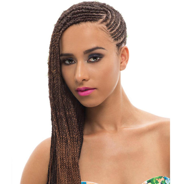 Janet Expression Caribbean Braid - 3X AFRO MARLEY (TWIST) BRAID 80""