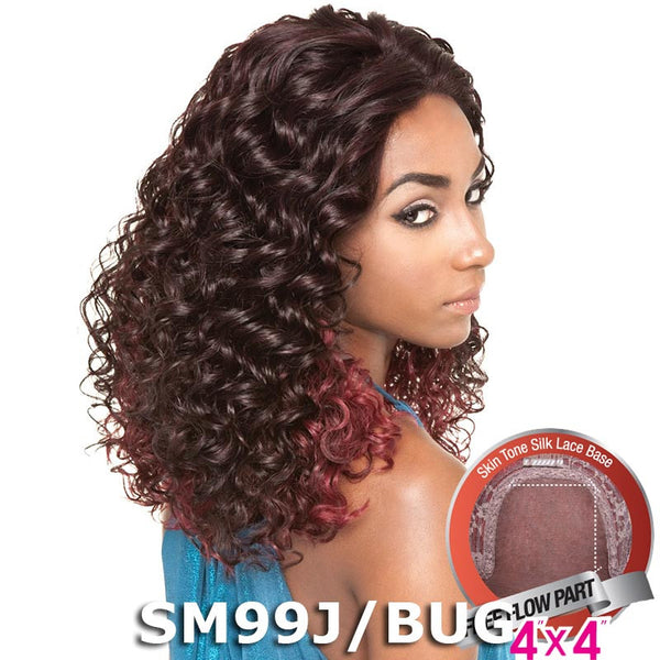 "Mane Concept Brown Sugar Human Hair Blend Silk Lace Wig - BS605 (4""X4"" Lace)"
