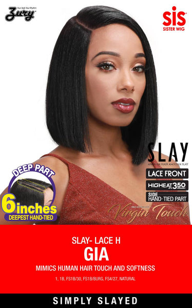 "Zury Sis Slay 6"" Deep Part Lace Front Wig - GIA"