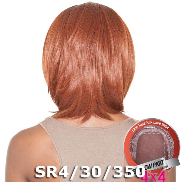 "ISIS Brown Sugar Human Hair Blend Silk Lace Wig - BS601 (4""X4"" Lace)"
