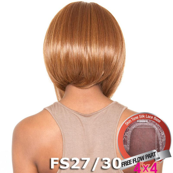 "Isis Brown Sugar Human Hair Blend Silk Lace Wig - BS609 (4""X4"" Lace)"