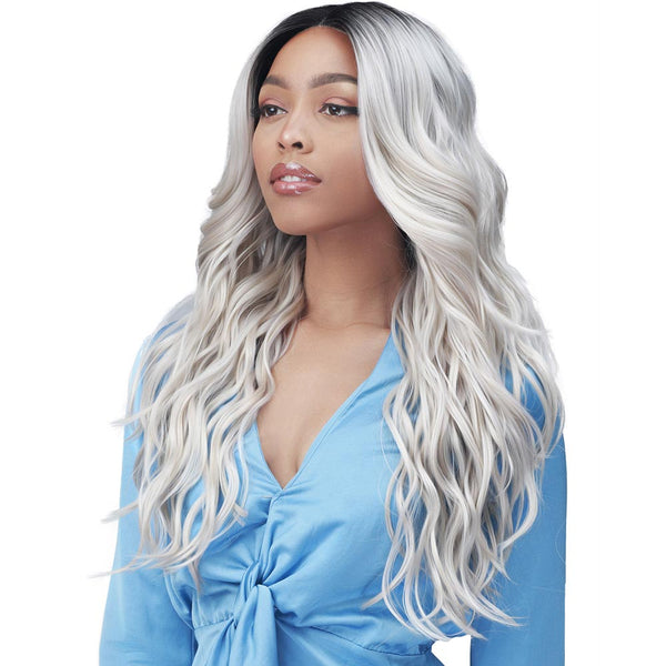 "BobbiBoss 5"" Deep Free-Position Part HD Lace Front Wig - MLF379 GARDENIA"