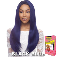 Janet Collection Brazilian Scent 100% Human Hair Lace Wig - ALEX