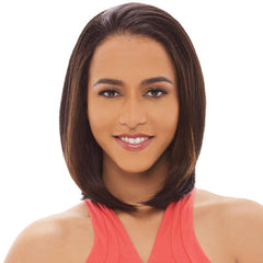 Janet Collection New Easy Quick Half Wig - ALLIE