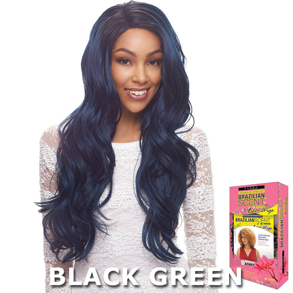 Janet Collection Brazilian Scent 100% Human Hair Lace Wig - ASTIN