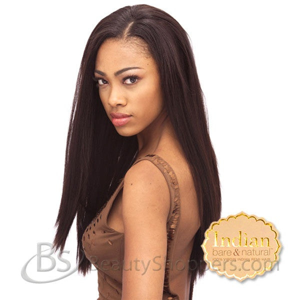 Indian BARE & NATURAL 100% Virgin Remi Hair Weave - YAKI NATURAL