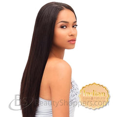 INDIAN BARE & NATURAL Remi Hair Weave - YAKI STRAIGHT