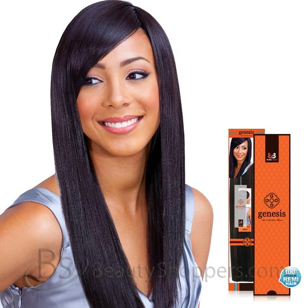 BobbiBoss Genesis™ First Class Remi Hair Weave - NATURAL YAKY