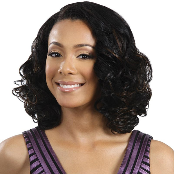 BobbiBoss Lace Front Wig - MLF-68 ANGEL RED