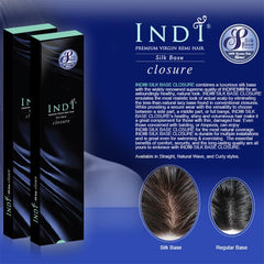 Indi® Silk Base Closure - MINKY YAKI