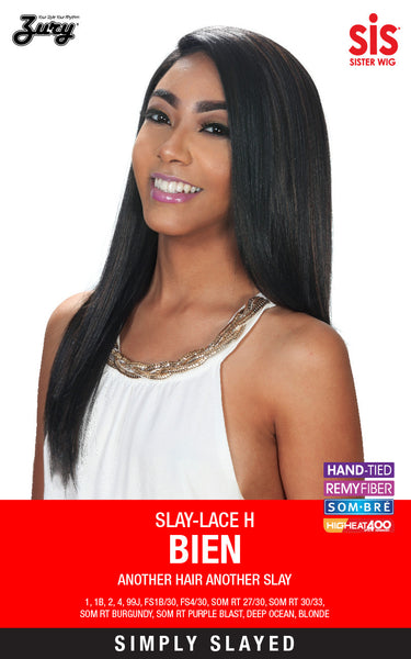 Sis Slay Natural Baby Hair Lace Front Wig - BIEN