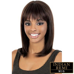 BeShe Indian Remi Human Hair Wig - INDIGO 16""