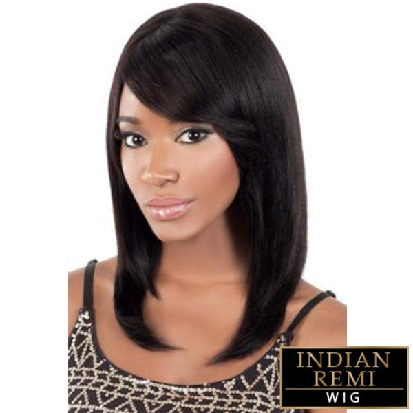 BeShe Indian Remi Human Hair Wig - RUTH 16""