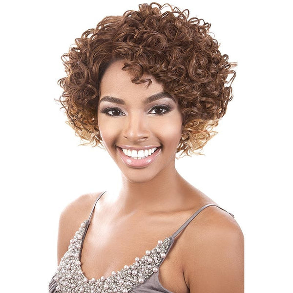 "BeShe Deep ""J""-Part Lace Front Wig - LLDP-110 (10"")"