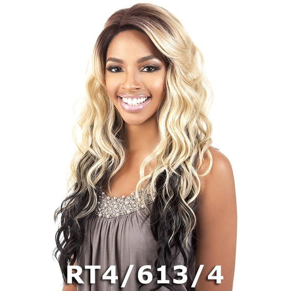 "BeShe Deep ""J""-Part Lace Front Wig - LLDP-125 (25"")"
