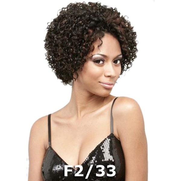 "BeShe EAR-2-EAR Lace Front Wig - LW-ELLE (TIGHT CURLY TAPER 10"")"