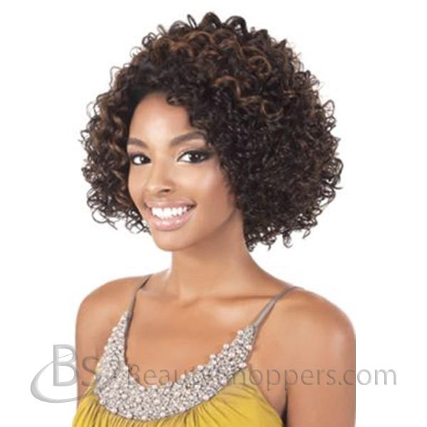 "BeShe 2"" Deep Lace Front Wig - LACE-21 (MEDIUM CURL 12"")"