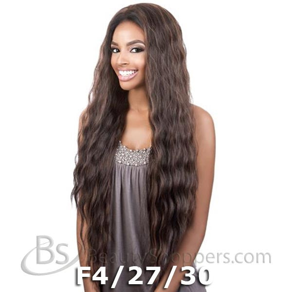"BeShe 2"" Deep Lace Front Wig - LACE-305 (LOOSE S-CURL LONG 28"")"