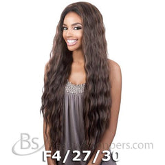 "BeShe 2"" Deep Lace Wig - LACE-305 (LOOSE S-CURL LONG OL28"")"