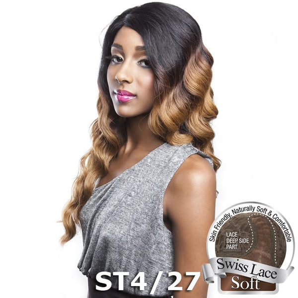 Isis Brown Sugar Human Hair Blend Soft Swiss Lace Wig - BS205