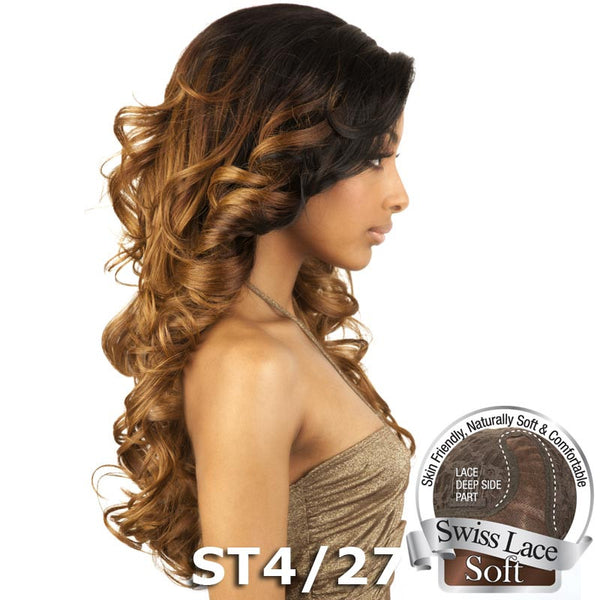 Isis Brown Sugar Human Hair Blend Soft Swiss Lace Wig - BS207