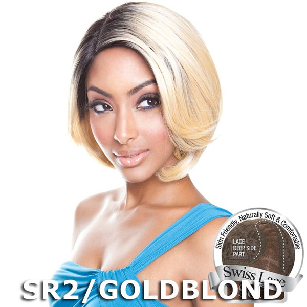 Isis Brown Sugar Human Hair Blend Soft Swiss Lace Wig - BS210