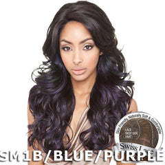 ISIS Brown Sugar Human Hair Blend Soft Swiss Lace Front Wig - BS212