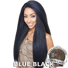 ISIS Brown Sugar Human Hair Blend Soft Swiss Lace Front Wig - BS213